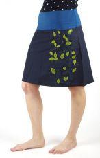 Zobrazit detail - Dámská letní sukně MEADOW krátká, ruční výroba z Nepálu