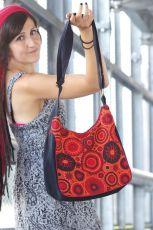 Zobrazit detail - Taška ENERGY, barevný potisk, kusová výroba z Nepálu