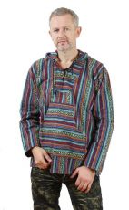Zobrazit detail - Teplá mikina KENAVI MEXICANO, bavlna s fleesem, Nepál