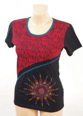 Zobrazit detail - Tričko ZAHIR, 100% bavlna, ruční tisk Nepál