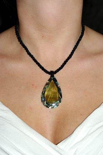 Náhrdelník perličkový s přívěškem IS0001 031