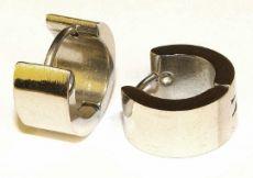 Náušnice ocel - čistá