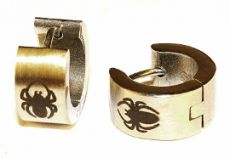 Náušnice ocel - pavouček