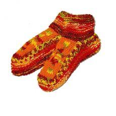 Teplé vlněné papučky