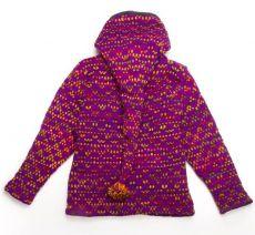 Dámské pletené svetry a svetrobundy z vlny s fleesem