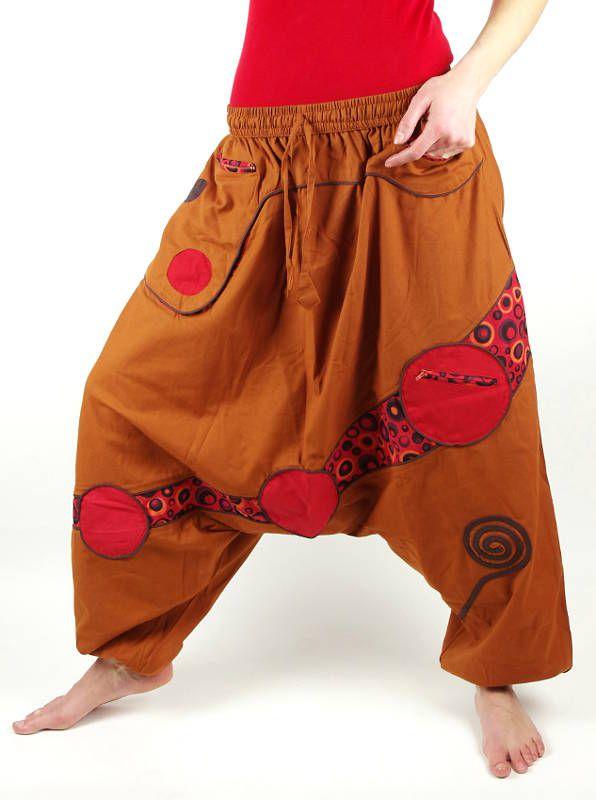 Kalhoty ORBITAL, ruční práce Nepál KENAVI