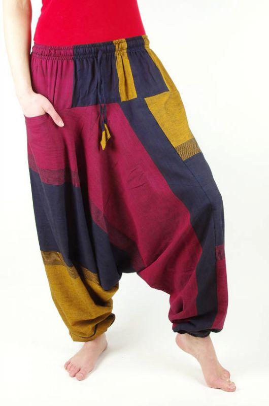 Kalhoty turecké GOLD NEO, bavlna Nepál KENAVI