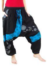 Kalhoty tureckého stylu MYSTERY, bavlna Nepál