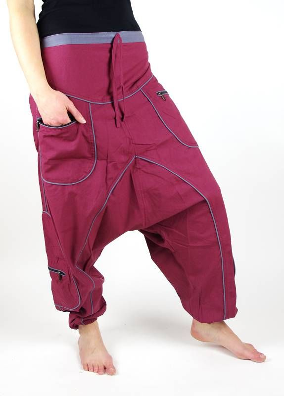 Kalhoty UNIVERSAL 2, pevná bavlna Nepál NT0053 24 005 KENAVI