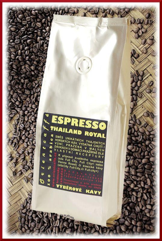 Káva Espresso Thailand Royal 1000 g TK0003 01 003 Orientcaffé