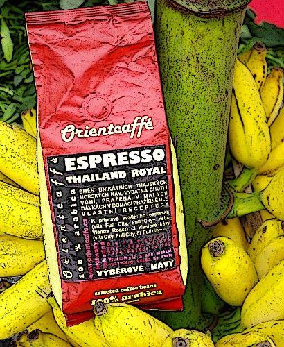 Káva Espresso Thailand Royal 250 g TK0003 01 001 Orientcaffé