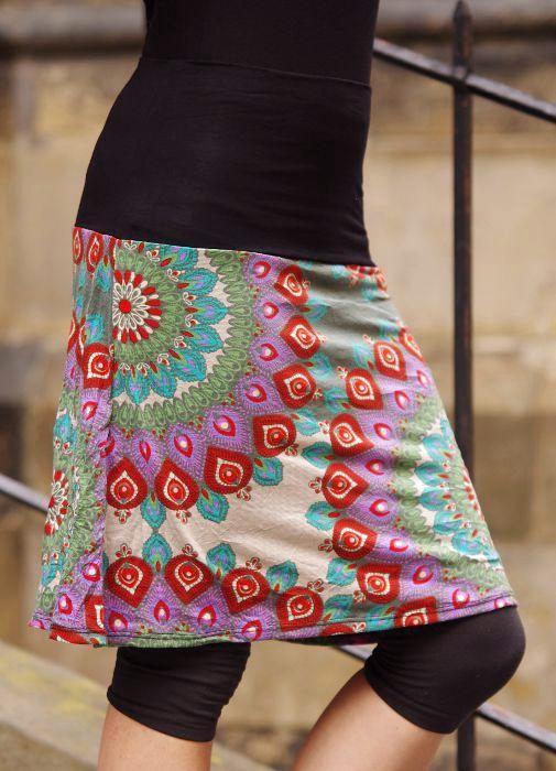 Krátká dámská letní sukně LOLA SEMI MIDI TT0102 02 006