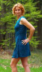 Letní dámské šaty KIRIBATI, viskóza Nepál NT0048 11 001
