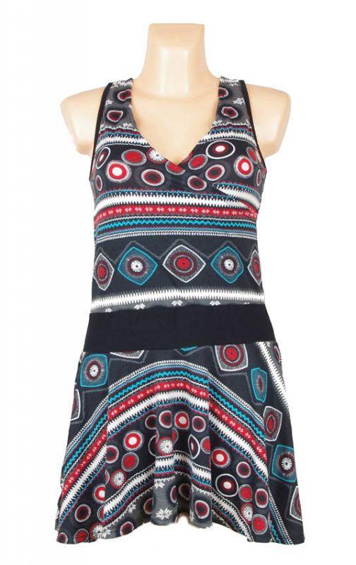 Letní šaty z pružného materiálu TT0024 0 040