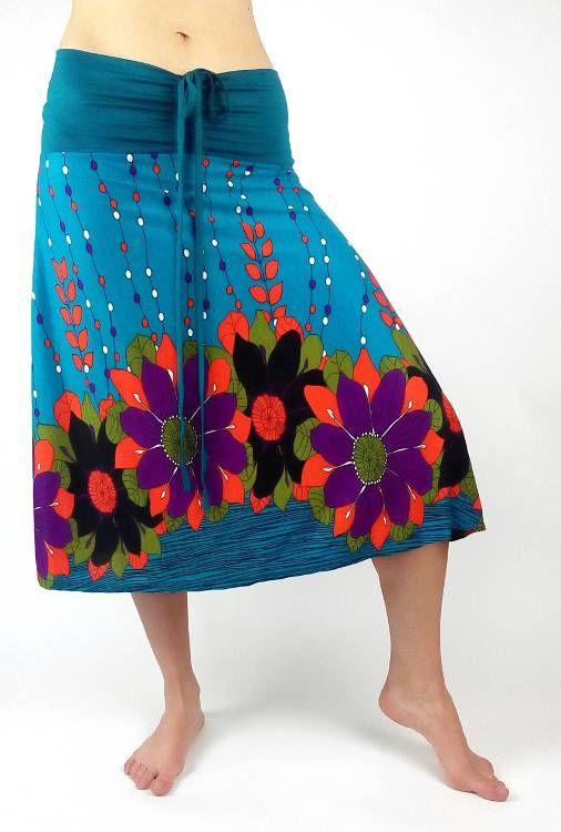 22c09484be91 Dámská letní sukně   šaty s potiskem TT0024 00 010