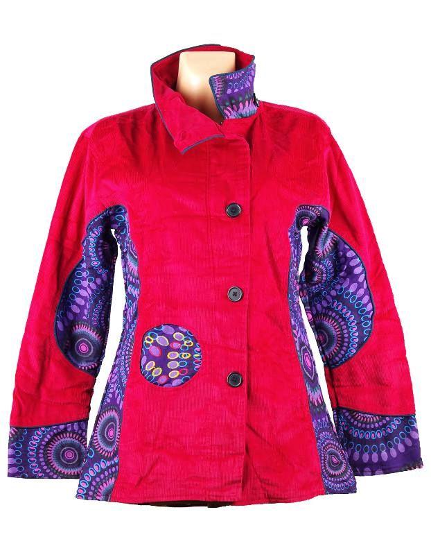 Manchesterový kabátek BOULLEVARD NEO s kavasovými potisky