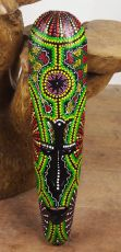 kopie Maska australský ethno dekor, albesia Indonésie