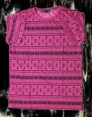 Pánské tričko s ethno dekorem TRIPLE T, XL