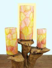 Stolní interiérová lampa (stínítko) FICUS 50 cm