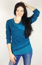 Tričko FAIRY bavlna, manufakturní potisk s výšivkou Nepál