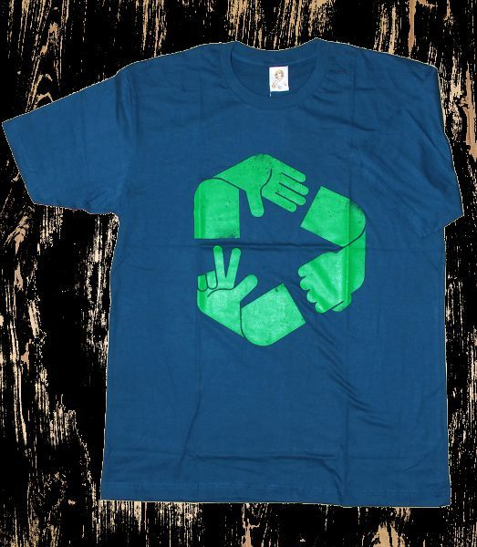 Tričko pánské s atraktivním potiskem velikost L Rocky Collection TT0025 093