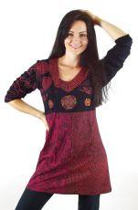 Tunika KARNALI, 100% bavlna, ruční práce Nepál