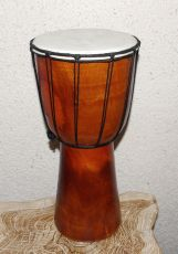 Buben djembe 30 cm, dřevo Indonésie