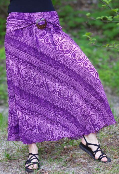 Dámská letní dlouhá sukně LAURA V, viskóza Thajsko TT0033 00 026