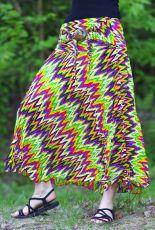 Dámská letní dlouhá sukně LAURA V, viskóza Thajsko