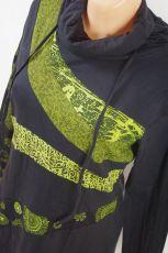 Dámská tunika s roláčkem LUISA, ruční práce Nepál NT004840-003 KENAVI