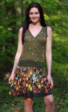 Dámské letní šaty (šatová tunika) z pružného materiálu