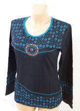 Tričko RUBY, 100% bavlna, ruční práce Nepál
