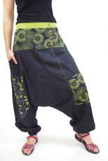 Kalhoty SALOME,  ruční práce Nepál