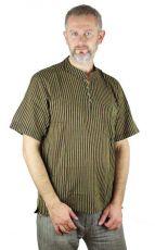 Pánská košile s krátkým rukávem z Nepálu