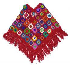 Pelerinka -  pončo vlněné z Nepálu