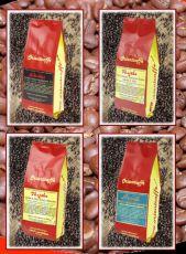 Sada unikátních výběrových káv z kvalitních malých plantáží 4 x 250 g, Nepál, Thajsko, Indonésie