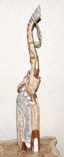 Soška SLON albesia hnědý  65 cm