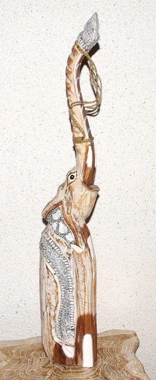 Soška SLON albesia hnědý 65 cm ID1603008 01 001