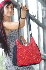 Taška ENERGY, barevný potisk, kusová výroba z Nepálu