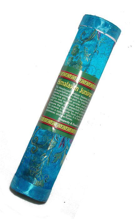 Tibetské vonné tyčinky JUNIPERUS (jalovec) v balení z hedvábné látky - Nepál ND0010 02 001