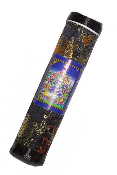 Tibetské vonné tyčinky MEDICINE BUDDHA v balení z hedvábné látky - Nepál ND0010 02 003