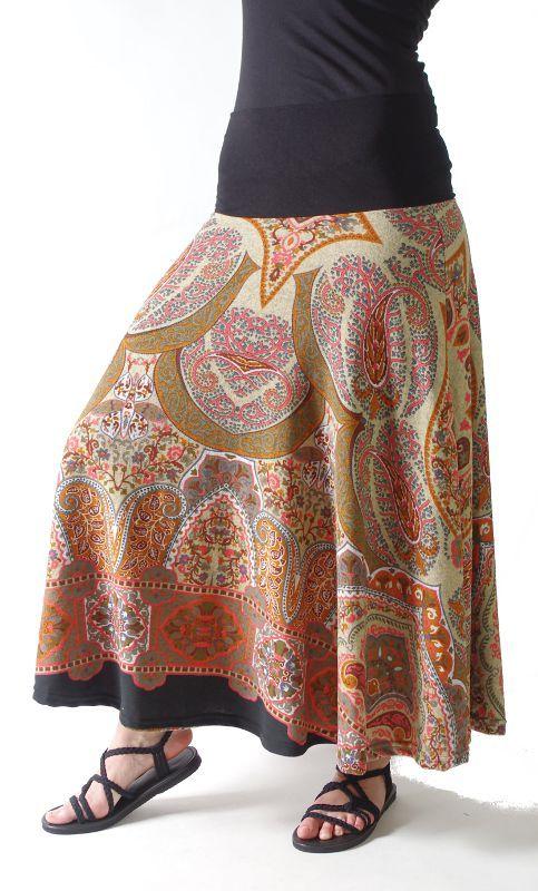 Dámská dlouhá sukně LOLA z teplejšího materiálu TT0100 01 025