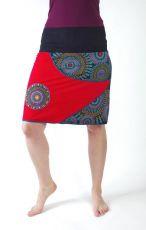 Dámská letní krátká sukně MANA, bavlna Nepál