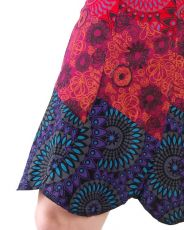 Dámská letní krátká sukně ROMA, bavlna Nepál NT0101-09-001 KENAVI