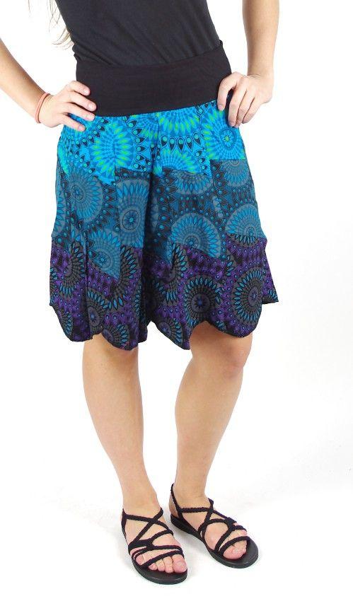 Dámská letní krátká sukně ROMA, bavlna Nepál NT0101 09 002 KENAVI