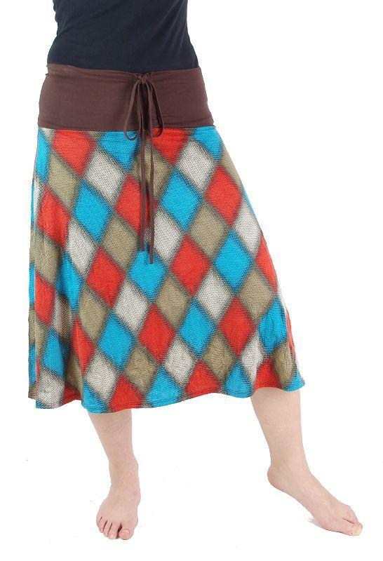 Dámská letní sukně / šaty s potiskem TT0024 00 037