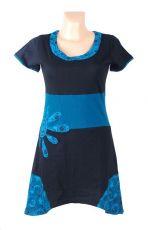 Dámské šaty - tunika UN FLEUR, ruční práce Nepál