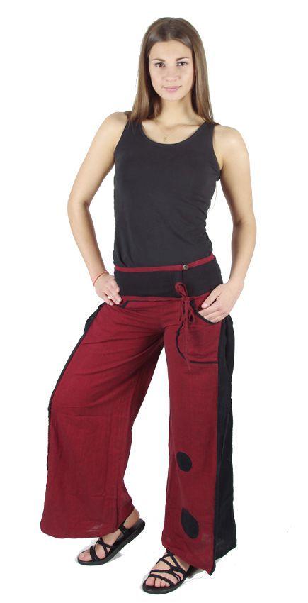 Dámské kalhoty SMOOTH (letní bavlněný měkčený materiál) NT0053 36 001 KENAVI