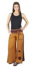 Dámské kalhoty SMOOTH (letní bavlněný měkčený materiál)