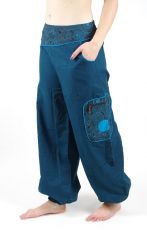 Dámské kalhoty TUAREG, bavlna, Nepál NT0053 33 001 KENAVI